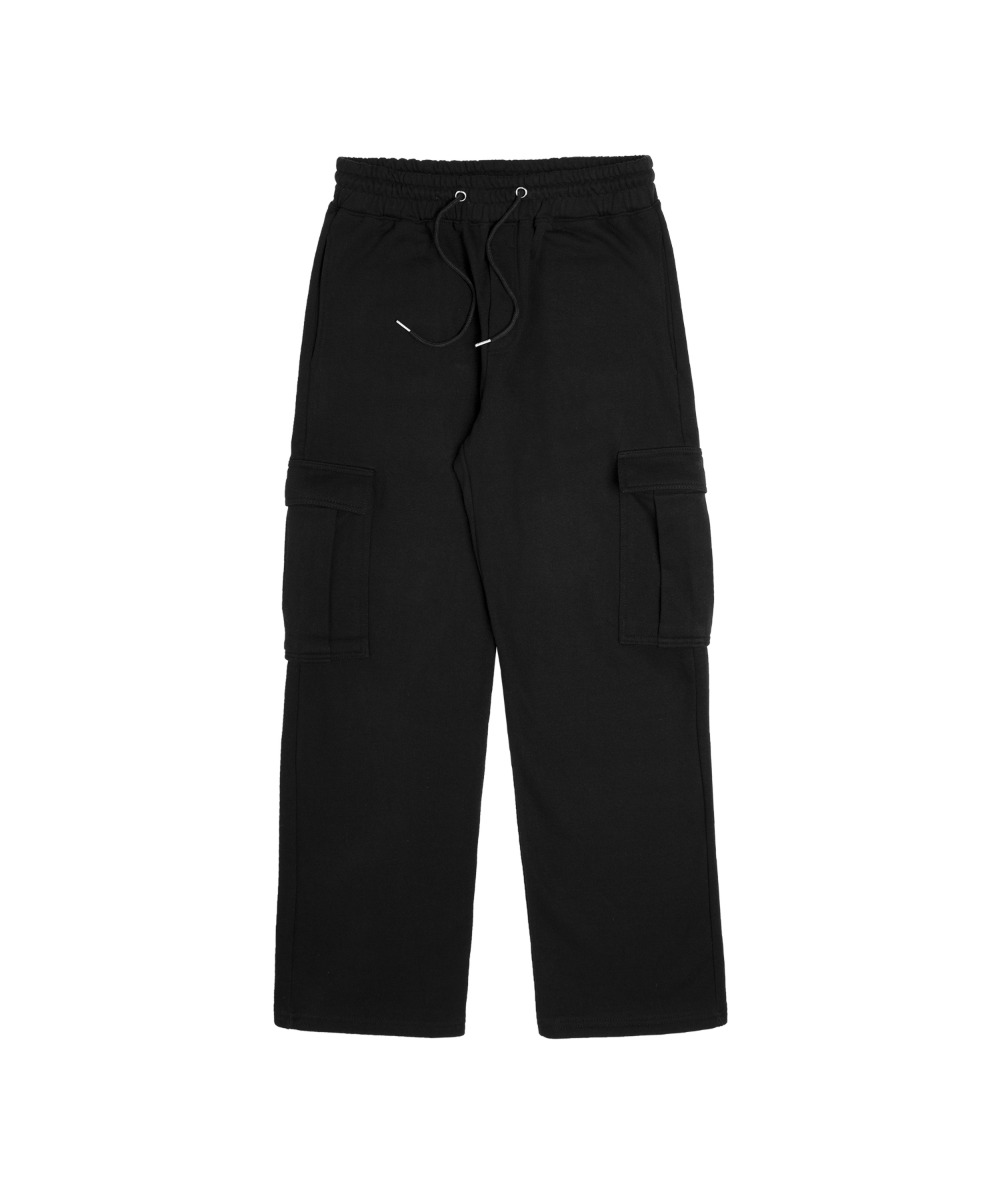 VMP-701 LWD CARGO SWEAT PANTS_Black