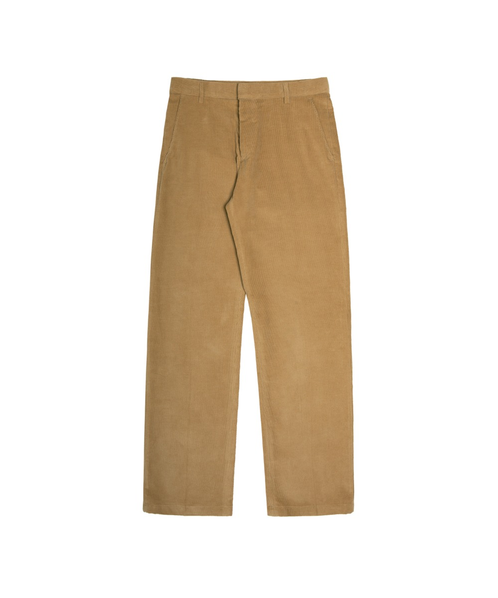 VP-612 LWD CODUROY PANTS_Curry beige