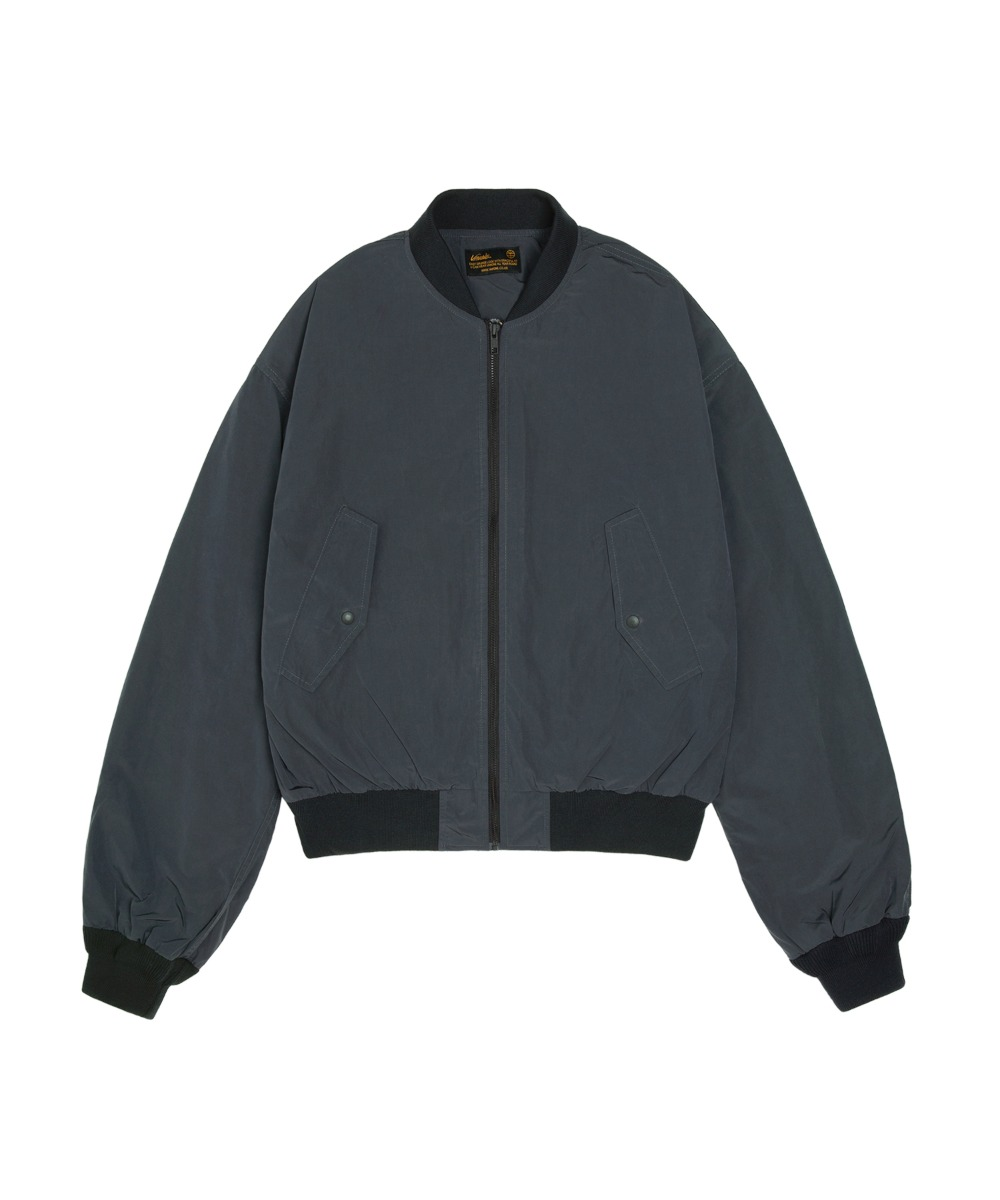 VJ-1006 MA-1 DROP JUMPER_Charcoal blue