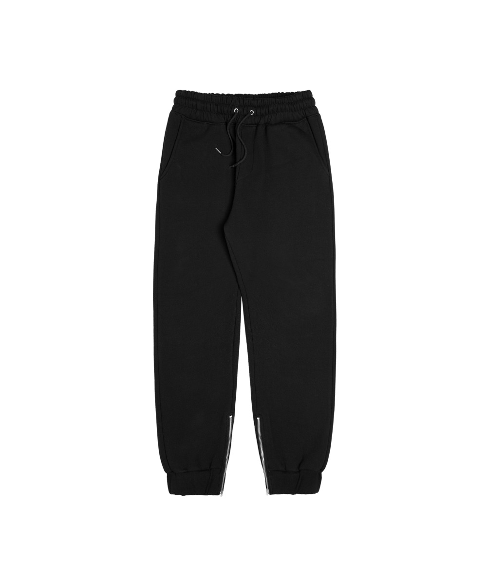 VMP-407 Fluffy Vanzip Sweat Pants_BK