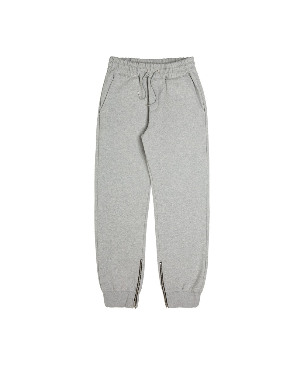 VMP-407 Fluffy Vanzip Sweat Pants_GY